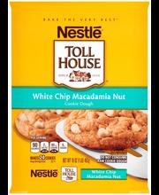 Nestle TOLL HOUSE White Chip Macadamia Nut Cookie Dough 16 oz...