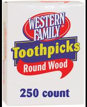 Wf Toothpicks Round