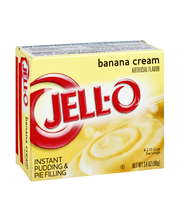 Jell-O® Banana Cream Instant Pudding & Pie Filling Mix 3.4 oz...