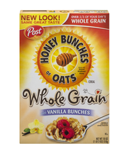 Post® Honey Bunches of Oats® with Vanilla Bunches Cereal 18 o...