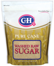 C&H Pure Cane Washed Raw Sugar 32 Oz Stand Up Bag