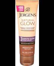 Jergens® Natural Glow™ 3 Days to Glow™ Medium to Tan Skin Ton...