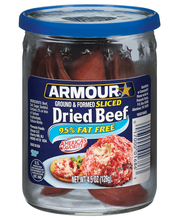 Armour® Ground & Formed Sliced Dried Beef 4.5 oz. Jar