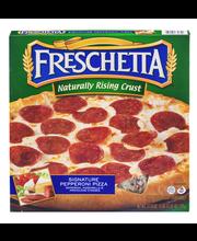 Freschetta® Naturally Rising Crust Signature Pepperoni Pizza ...