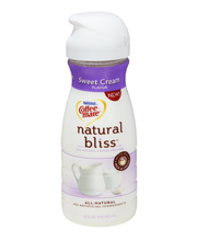NESTLE COFFEE-MATE Natural Bliss Sweet Cream Flavor Liquid Co...