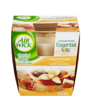 Air Wick® Vanilla & Brown Sugar Scented Candle 3.5 oz. Box