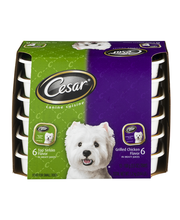 CESAR Variety Pack Canine Cuisine Top Sirloin & Grilled Chick...