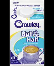 Crowley® Half & Half 1 pt. Carton