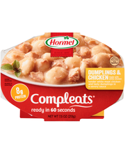 Hormel® Dumplings & Chicken Compleats®  7.5 oz. Sleeve