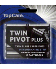 TOPCARE TWIN BLADE CARTRIDGES
