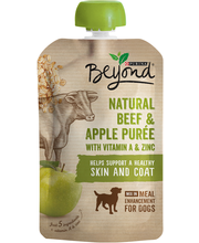 Purina Beyond Natural Beef & Apple Puree with Vitamin A and Z...