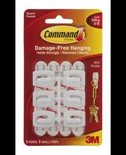 Command Brand Damage-Free Hanging Hooks - 6 CT