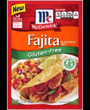 McCormick® Gluten-Free Fajita Seasoning Mix, 1.12 oz. Packet