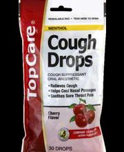 TOPCARE COUGH DROPS CHERRY