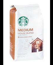 Starbucks® Medium House Blend Whole Bean Coffee 12 oz. Bag