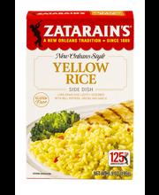 Zatarain's® Yellow Rice Mix, 6.9 oz