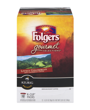 Folgers Gourmet Selections Coffee K Cups Lively Colombian - 1...