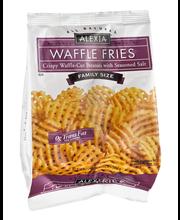 Alexia® All Natural Seasoned Waffle Cut Fries 20 oz. Bag