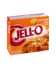 Jell-O® Orange Gelatin Dessert Mix 3 oz. Box