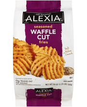 Alexia® All Natural Seasoned Waffle Cut Fries 20 oz. Bag