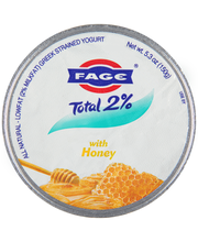 Fage® Total 2% Greek Strained Yogurt with Honey 5.3 oz. Cup