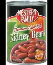 Wf Kidney Beans Lt Red