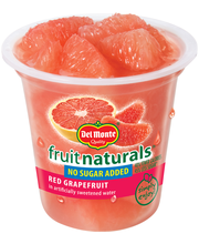 Del Monte® Fruit Naturals® Red Grapefruit in Artificially Swe...