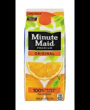 Minute Maid® Premium Original Low Pulp 100% Orange Juice 59 f...