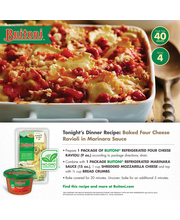 BUITONI Refrigerated Marinara Pasta Sauce no GMO Ingredients ...