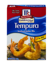 McCormick® Golden Dipt® Tempura Batter Mix, 8 oz. Box
