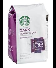Starbucks® Morning Joe Dark Ground Coffee 12 oz. Bag