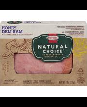 Hormel® Natural Choice® Sliced Honey Deli Ham 8 oz. Box
