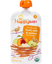Happy Baby® Hearty Meals Fruits, Oats & Quinoa with Cinnamon ...