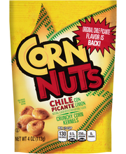 Corn Nuts Chile Picante con Limon Crunchy Corn Kernels 4 oz. Bag