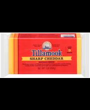 Tillamook® Sharp Cheddar Cheese 1 lb. Brick