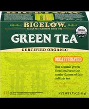 Bigelow® Organic Decaffeinated Green Tea 40 ct Box