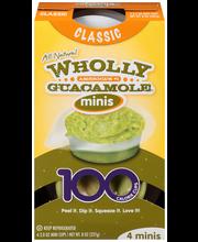 Wholly Guacamole® Classic Guacamole Minis 4-2.0 oz. Mini Cups