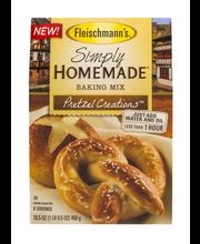 Fleischmann's® Simply Homemade® Baking Mix Pretzel Creations™...