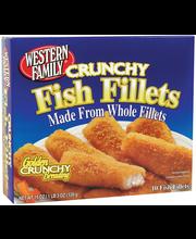 Wf Fish Fillets Golden