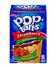 Pop-Tarts® Strawberry Unfrosted Toaster Pastries 14.7 oz. Box
