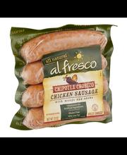 Al Fresco All Natural Chicken Sausage Chipotle Chorizo