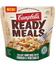 Campbell's Creamy Dumplings with Chicken & Vegetables Ready M...