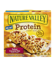 Nature Valley® Salted Caramel Nut Protein Chewy Bars 5 ct Box