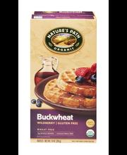 Nature's Path Organic Wheat & Gluten Free Waffles Buckwheat W...