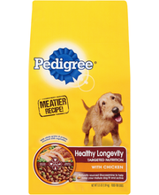 Pedigree® Healthy Longevity Complete Nutrition Roasted Chicken, Rice & Vegetable Flavor Dog Food 3.5 lb. Bag
