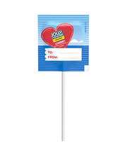 Jolly Rancher Valentine Exchange Original Flavors Lollipops 1...