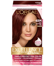L'Oreal® Paris Excellence® Creme Red Richesse 4RM Dark Mahoga...