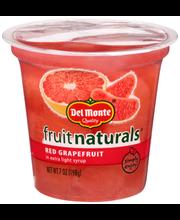 Del Monte® Fruit Naturals® Red Grapefruit in Extra Light Syru...