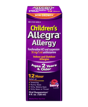 Children's Allegra Allergy 12 Hour Relief Oral Suspension Ber...