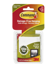 Command Damage-Free Hanging Picture Hanging Strips - 6 CT